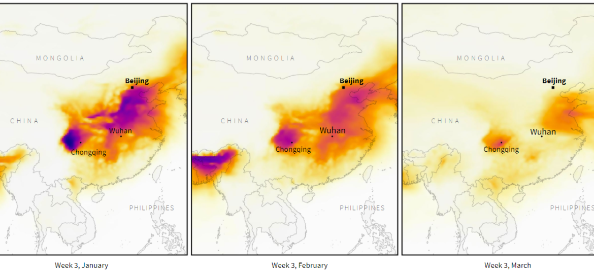 Particulate Matter over China